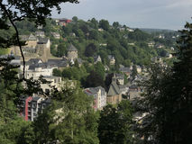 The town monschau Royalty Free Stock Images