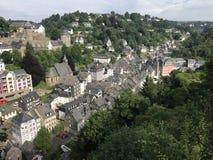 The town monschau Stock Photo