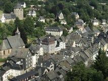 The town monschau Royalty Free Stock Photos