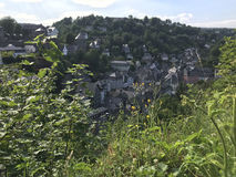The town Monschau Royalty Free Stock Photography
