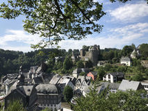 The town monschau Stock Photography