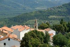 The town of Motovun, Croatia Stock Photography