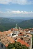 The town of Motovun, Croatia Stock Image