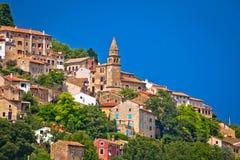 Town of Motovun old mediterranean architecture Royalty Free Stock Photos
