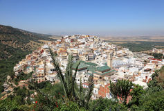 Town Moulay Idriss, Morocco Stock Photos