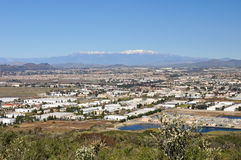 Town of Murrieta. Murrieta, California merges with the city of Temecula and continues to grow Stock Photo