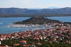 Town Murter, Croatia Stock Photos