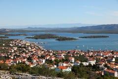 Town Murter in Croatia Royalty Free Stock Photos