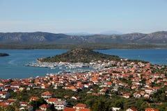 Town Murter in Croatia Stock Photos
