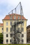 Town Museum Dresden. View from Side Sachsen Germany Stock Photos