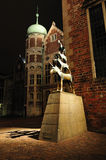 The Town Musicians of Bremen in Germany Stock Images