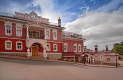 The town of Myshkin, Yaroslavl region. The house where they live mouse. Fabulous tourist town Royalty Free Stock Image