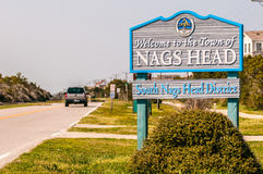 Town of nags head scenes on outer banks Royalty Free Stock Photo