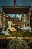Town Nativity Scene royalty free stock photos