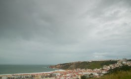 Town of nazare Stock Image