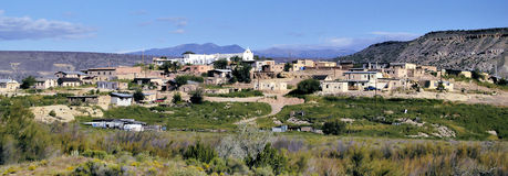 Town in New Mexico Stock Photos