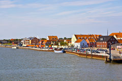Town of Nordby on the island of Fano in Denmark Royalty Free Stock Photos