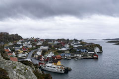 Town in norway. Visit to norway stock photos