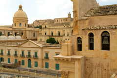 The town of Noto on Italy Stock Photography