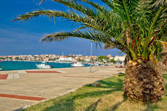 Town of Novalja, island of Pag Royalty Free Stock Photography