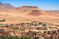 Town and oasis of Tinerhir, Morocco Stock Image