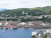 Town of Oban Scotland Stock Photos