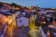Town Obidos - Portugal Royalty Free Stock Image