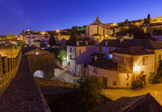 Town Obidos - Portugal Royalty Free Stock Photo