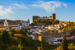Town Obidos - Portugal Stock Photos