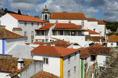 Town Obidos, Portugal Royalty Free Stock Photography