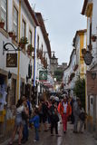 Town of Obidos in Portugal Royalty Free Stock Photography