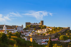 Town Obidos - Portugal Stock Photography