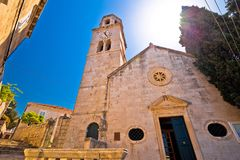 Free Town Of Cavtat Stone Church View Royalty Free Stock Photography - 116608197