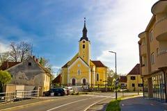 Free Town Of Ivanec Church View, Zagorje Region Of Croatia Royalty Free Stock Photo - 85844385