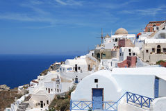 Town of oia Royalty Free Stock Photography