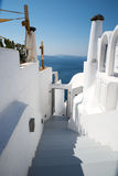 Town of Oia in Santorini Stock Photos