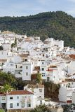 Town of ojen near marbella Spain early morning Stock Image