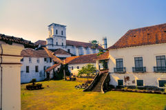 Town of Old Goa in India Royalty Free Stock Photos