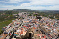 Town Olvera, Andalusia, Spain Royalty Free Stock Images