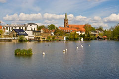 Free Town On River Royalty Free Stock Image - 5477836