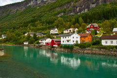 Free Town On River Bank Royalty Free Stock Photos - 23313498