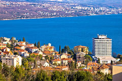 Town of Opatija and Kvarner bay Stock Photography