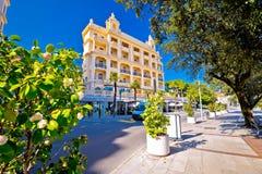 Town of Opatija street view, Royalty Free Stock Photo