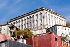 Town of Oporto. The varied and beautiful buildings in Oporto Royalty Free Stock Photos