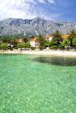 Town Orebić on Peljesac peninsula in south Dalmatia, Croatia Royalty Free Stock Photos