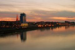 Town Osijek Royalty Free Stock Images