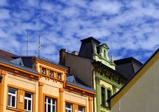 Town Písek. South Bohemia, Europe Stock Image