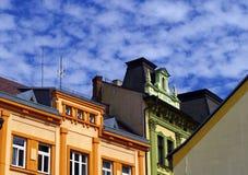 Town Písek. Town Písek, South Bohemia, Europe stock image