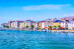 Town Pag during summertime, Croatia. Stock Images
