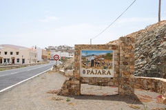 Town Pajara, Fuerteventura, Spain Royalty Free Stock Images